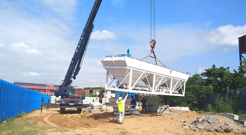 ready mix concrete equipment